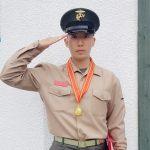 U-KISSフン、本日(25日)、海兵隊訓練を修了…凛とした姿で挨拶