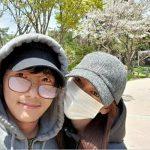【トピック】イ・サンウ&キム・ソヨン夫婦、ラブラブ花見デートの様子を公開