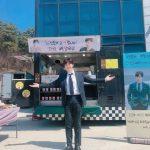 <トレンドブログ>「2PM」イ・ジュノの新ドラマ撮影現場にチョン・リョウォン、チャン・ヒョクからコーヒーカーが届く!