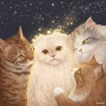 <トレンドブログ>「ソムを記憶して」..ユン・ギュンサン、伴侶猫の絵のプレゼントを認証
