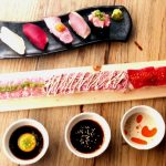 【情報】韓国で話題のロンユッケ寿司が鮪料理専門店監修のもと進化!!【肉鮪ロングユッケ寿司】誕生♪ロングユッケ寿司付肉鮪寿司食べ放題を1980円でご提供!