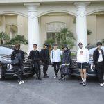 防弾少年団(BTS)、現代(ヒュンダイ)車「パリセード」に乗ってビルボードミュージックアワードに