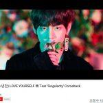防弾少年団、「Singularity」MVが再生回数1億回突破…韓歌手最多記録を自ら更新「公式」