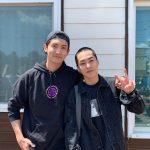 """東方神起チャンミン、シウミン(EXO)の軍入隊の見送り…""""元気で行ってこい"""""""