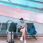 【トピック】俳優イ・ミンホ、空港ショットで見せた脚の長さが話題に