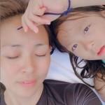 SHIHO&サランちゃん親子、韓国バラエティでハワイ自宅を初公開