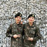 <トレンドブログ>「BTOB」ウングァンXチャンソブ、より一層りりしくなった軍人お兄さん♥