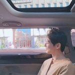 """<トレンドブログ>「ASTRO」チャ・ウヌ、車に乗って風に吹かれるだけで芸術!""""顔の天才""""の威厳!"""