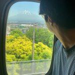 """俳優チョン・イル、大阪に移動中の姿を公開!""""富士山からパワーをもらって、今日のファンミーティングも楽しみます!"""""""