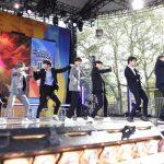 防弾少年団、米「グッドモーニング・アメリカ・サマーコンサート」で初ステージを飾る