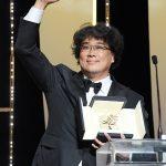 ポン・ジュノ監督「パラサイト」、韓国映画史上初! カンヌで最高賞パルムドールを受賞