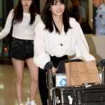"「PHOTO@仁川」TWICEモモ&ミナ、休暇を終えて韓国帰国…""充電して帰って来ました"""
