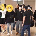 「PHOTO@仁川」防弾少年団(BTS)、ヨーロッパツアーを終えて韓国帰国