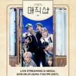 防弾少年団(BTS)ソウルファンミ、今日(23日)、V LIVEで全世界生中継