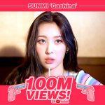 歌手ソンミ(元Wonder Girls)、ヒット曲「Gashina」MVが再生回数1億回を突破