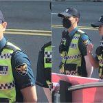 <トレンドブログ>「Highlight」ヤン・ヨソプ、義務警察としてフェスティバルの警備に就く姿がキャッチされる!