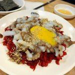 <トレンドブログ>【韓国市場】広蔵市場 ユッケ通りでユッケとサンナクチと韓国焼酎で!