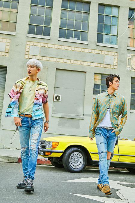 """EXO新ユニット""SEHUN X CHANYEOL、7月22日に1stミニアルバム発売へ"