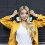 <トレンドブログ>清河(チョンハ)を持ったチョンハ!爽やかな金髪の美貌に視線集中。