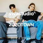 【情報】韓国で大人気のストリートブランドVIVASTUDIO(ビバスタジオ)が日本初上陸!6月27日(木)にZOZOTOWNにてグランドオープン