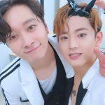 """MYNAMEセヨン、チャンソン(2PM)兄さん""""愛してる""""「兄さん、体に気を付けていってらっしゃい。僕もすぐに!ついていきます。」"""
