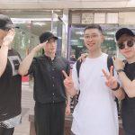"""2PMチャンソン、ニックンとJun.Kとテギョンに見送られて入隊…""""最後まで愉快"""""""
