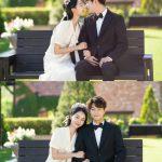 キム・ミョンス(INFINITE エル)&シン・ヘソン、「ただ、一つだけの愛」結婚式の写真を公開…微笑ましい新郎新婦