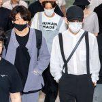 「PHOTO@金浦」防弾少年団(BTS)、日本コンサートを終えて韓国帰国