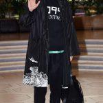 「PHOTO@金浦」俳優パク・ヘジン、オールブラックファッションでさっそうと…ファッションイベント出席のため日本に