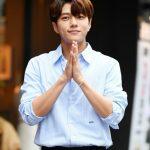 「PHOTO@ソウル」キム・ミョンス(INFINITEエル)、輝く笑顔で登場…ドラマ「ただ、一つだけの愛」の打ち上げに出席