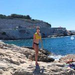 SHIHO、優雅な家族との日常を公開…南フランスのビーチで夏休み