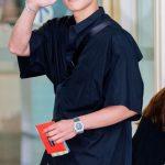 「PHOTO@仁川」俳優チ・チャンウク、オールブラックで、モデル顔負けのランウエィ