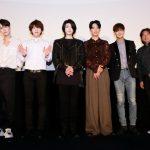 「イベントレポ」日本デビュー10周年を迎えるSUPERNOVAの記念映画『超新星 10th Anniversary Film~絆は永遠に~』が7/26公開。メンバーが登壇する初日の舞台挨拶のチケットに応募が殺到。