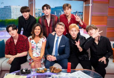 「MONSTA X」、英国「Good Morning Britain」出演に関心集中