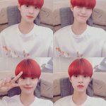 <トレンドブログ>「AB6IX」イ・デフィ、真っ赤なヘアもお似合いで少年美爆発!