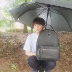 イ・ジュニョン(U-KISSジュン)、雨の中でドラマのPR…可愛いプリンス