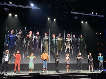 マーベル、映画「エターナルズ」のコンセプトを公開…ヒーロー役のマ・ドンソクも登場