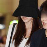 「公式的立場」活動中断中のTWICEミナ、母親と共に韓国入国…涙を流すなどつらそうな姿