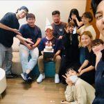 俳優チ・チャンウク、マネージャーの誕生日を祝う…ファンからもお祝いと感謝のメッセージ