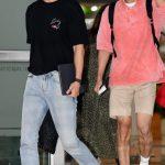 「PHOTO@金浦」東方神起、日本での日程を終えて韓国帰国…ラフなファッションにも個性をアピール
