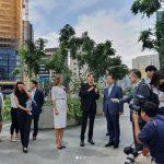 歌手キム・ジュンス、韓流文化大賞「ソウル市長賞」受賞…ソウル市長と共にソウル名所を訪問