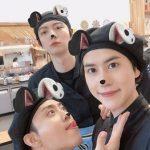 キュヒョン(SUPER JUNIOR)、「カン食堂3」の放送終了を前にウン・ジウォン&アン・ジェヒョンと別れを惜しむ写真