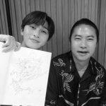"""俳優パク・ソジュン、白黒でも輝いてる…""""素敵な出会い"""""""