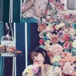 【トピック】女優チョン・ソミン、花より美しい美貌が話題