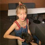 <トレンドブログ>「AOA」ジミン、ベロ出していたずらっ子のような笑顔‥さらに痩せたスタイル