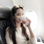 <トレンドブログ>パク・ミニョン機内セルフィー、美しすぎる女優オーラ☆