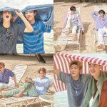 EXO、ハワイ写真集第2弾「PRESENT; the moment」9月10日に発売…青春の瞬間を満喫