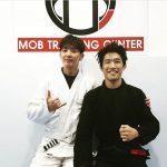 俳優イ・ジュンギ、俳優から柔術家に転身?!ブラジリアン柔術はプロ級