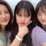 キム・セロン、美人3姉妹の認証ショットを公開