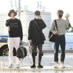 「PHOTO@仁川」NU'EST、ブラック&ホワイトファッションで統一!マニラに行ってきま~す